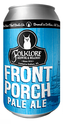 Alabev Craft Beer Folklore Brewing Front Porch 6pk