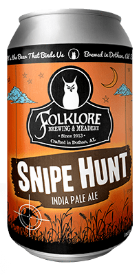 Alabev Craft Beer Folklore Brewing Snipe Hunt IPA 6pk