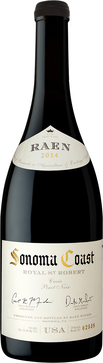 Allocations Pinot Noir 2014 RAEN Royal St. Robert Pinot Noir