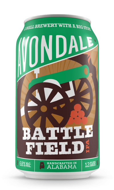 Avondale Brewing (Birmingham, Alabama) Craft Beer Avondale Battlefield IPA 6pk