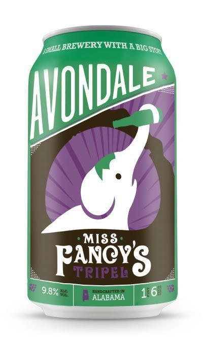 Avondale Brewing (Birmingham, Alabama) Craft Beer Avondale Miss Fancy's 4pk