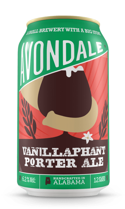Avondale Brewing (Birmingham, Alabama) Craft Beer Avondale Vanillaphant 6pk