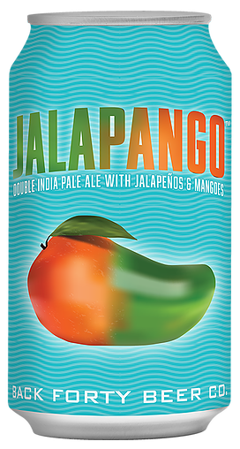 Back Forty Beer Co. (Gadsden, Alabama) Craft Beer Jalapango 4pk