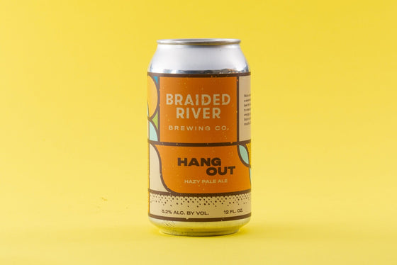 Bud Busch Beer Braided River Hang Out Hazy IPA