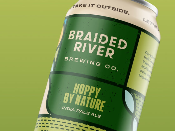 Bud-Busch Beer Braided River Hoppy By Nature IPA