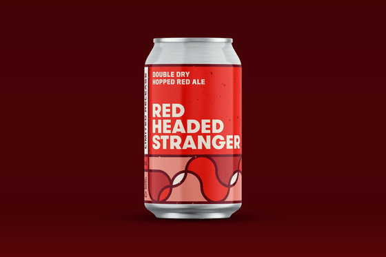Bud Busch Beer Braided River Red Headed Stranger Double Dry Hopped Red Ale