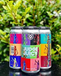 Bud-Busch Beer Ghost Train Judge Juicy 4pk