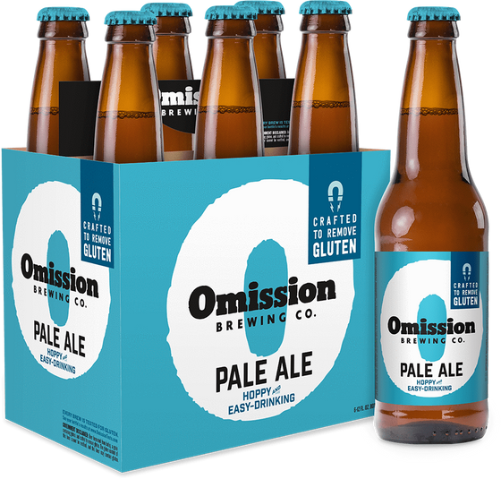 Bud-Busch Beer Omission Gluten Free Pale Ale 6pk