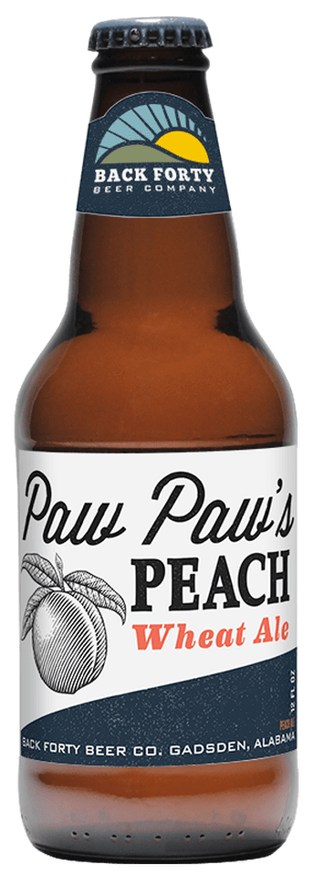 Bud-Busch Craft Beer Default-Title 26. Back Forty Paw Paw's Peach Wheat Ale 6pk