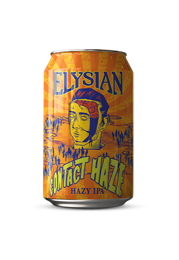 Bud-Busch Craft Beer Elysian Contact Haze Hazy IPA 6 pk
