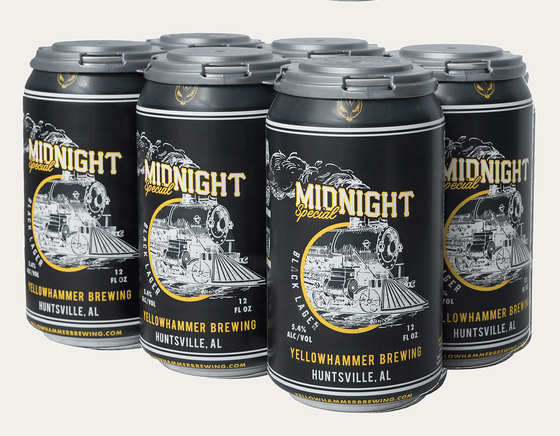 Bud-Busch Craft Beer Yellowhammer  Midnight Special 6pk