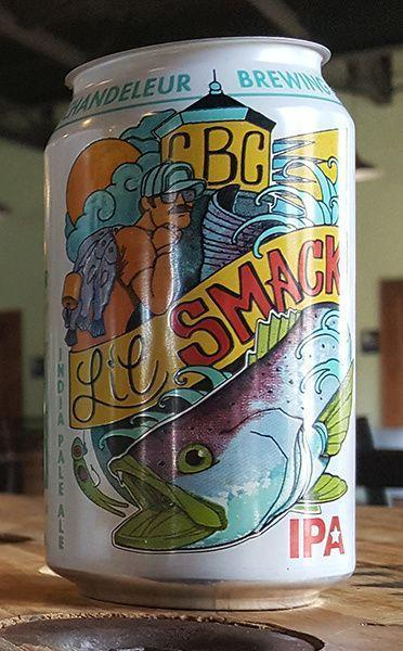 Chandeleur Brewing (Gulfport, Mississippi) Craft Beer Chandeleur Lil Smack 6 Pack