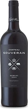 Château Souverain Merlot 2016 Château Souverain 2016 Merlot (#67 Wine Enthusiast Best Buys 2018)