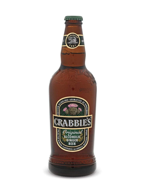 Crabbies (Edinburgh, Scotland) Craft Beer Crabbies Ginger Beer 4 Pack
