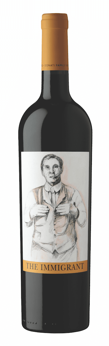 Donati Red Blend Donati Family Vineyard The Immigrant 2014