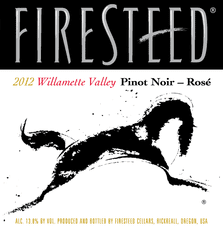 Firesteed Wines Pinot Noir Rosê Firesteed Wines, Willamette Valley Pinot Noir Rosé