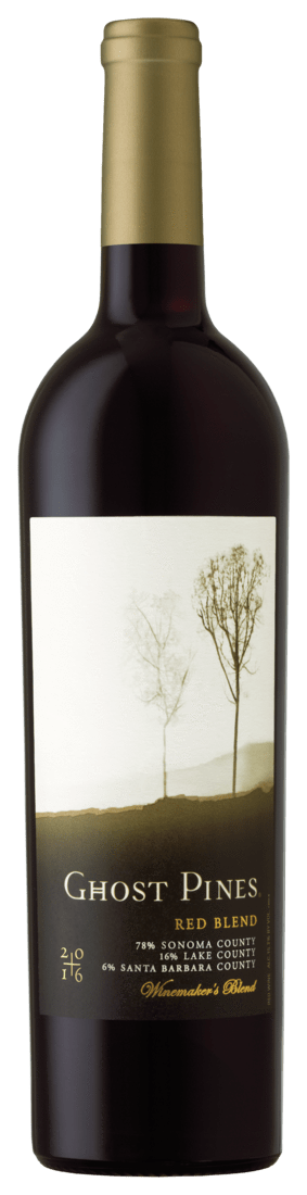 Ghost Pines Pinot Noir 2016 Ghost Pines Winemaker's Blend Pinot Noir Yolo-Sonoma-Monterey Counties, #95 2018 Wine Spectator Top 100