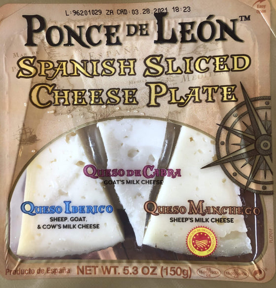 Gourmet Foods International Cheese Spanish Sliced Cheese Plate