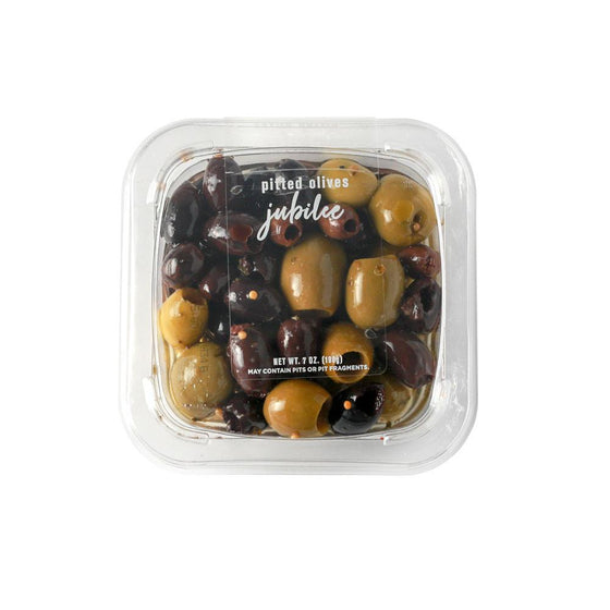 Gourmet Foods International Food Pitted Olives Jubilee 7oz