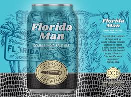 Gulf Distributing Beer Cigar City Florida Man Double IPA