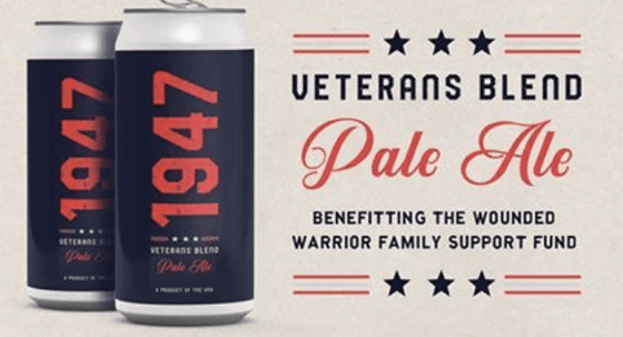 Gulf Distributing Beer Trimtab 1947 Veterans Blend Pale Ale 4 pk