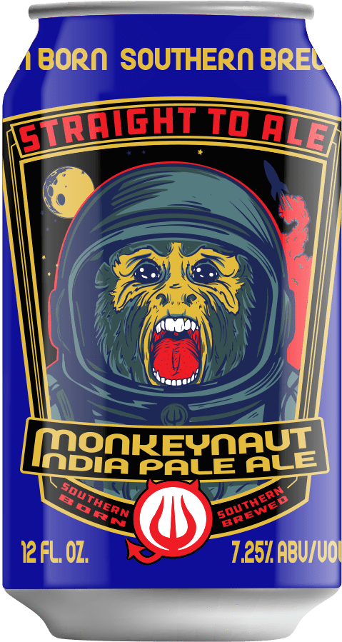 Gulf Distributing Craft Beer Straight to Ale Monkeynaut IPA 6pk