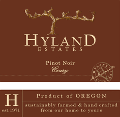 Hyland Estates Pinot Noir Hyland Estates McMinnville Pinot Noir Coury 2013