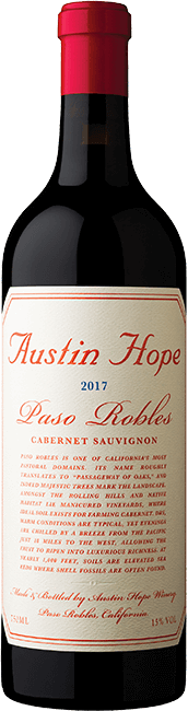 International Cabernet Sauvignon 2017 Austin Hope Paso Robles Cabernet Sauvignon