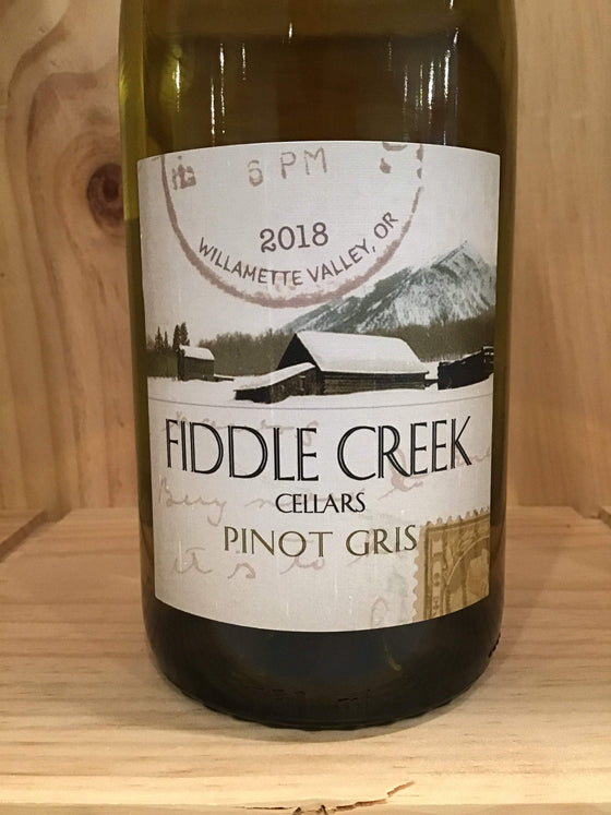 International Wine Fiddle Creek Pinot Gris