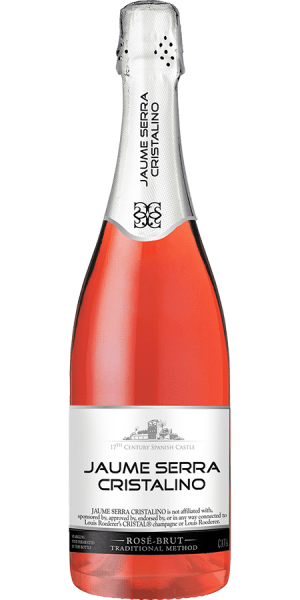International Wine Jaume Serra Cristalino Cava Rose Brut