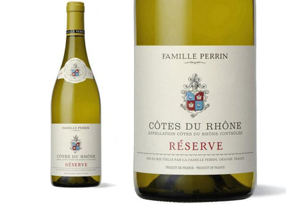 International Wines French White Famille Perrin Côtes du Rhone Reserve Blanc