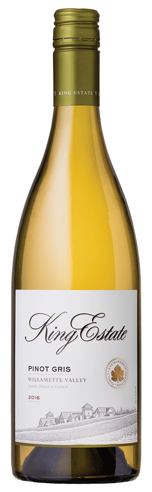 M & J Wines Pinot Gris King Estate Pinot Gris