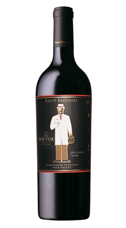 M & J Wines Red Blend Krupp Brothers The Doctor
