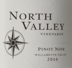 North Valley Vineyards Pinot Noir Soter North Valley Vineyards Pinot Noir Willamette Valley 2016