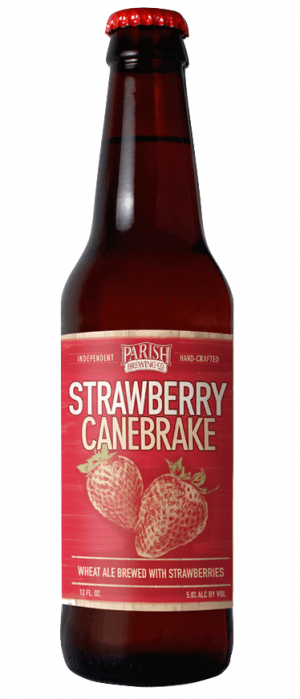Parish Brewing (Broussard, Louisiana) Craft Beer Parish Strawberry Canebreak 6pk