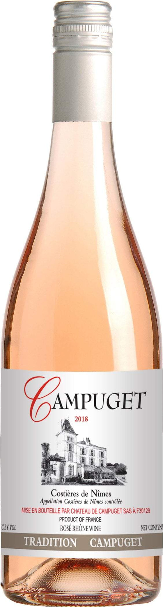 Pinnacle Imports Rosè Campuget Tradition Rose