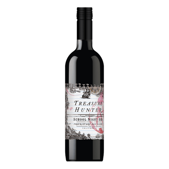 Rush Imports Red Blend Treasure Hunter School Night Red Blend
