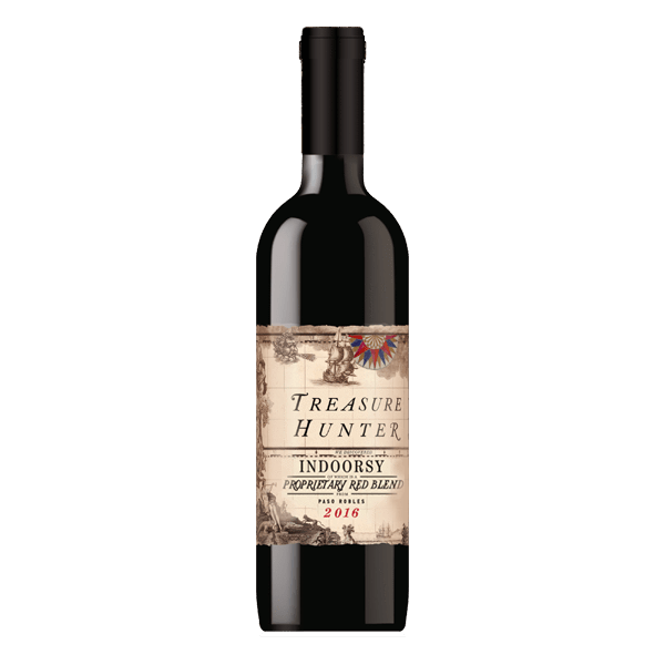 Rush Red Blend Treasure Hunter Indoorsy Red Blend