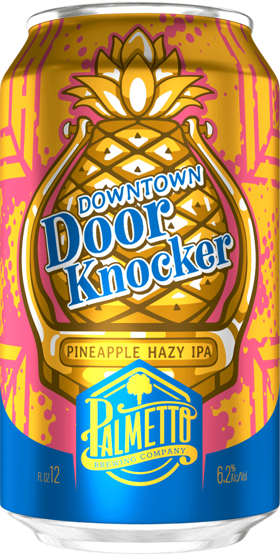 Southern Napa Fine Wine House Palmetto Brewing Downtown Door Knocker Pineapple Hazy IPA
