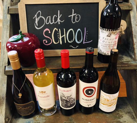 Southern Napa Fine Wine House Wine 'Back to School Supplies' Weekender