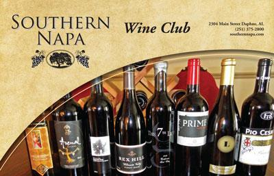 Southern Napa Fine Wine House Wine Club Southern Napa's Big Red Club 1-Month