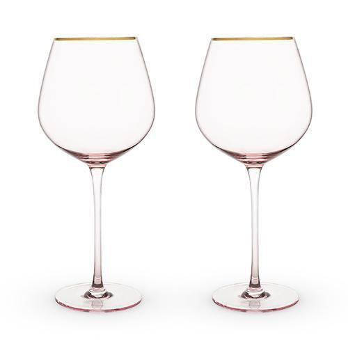Southern Napa Fine Wine House Wine Glasses Rosè  Crystal Red Wine Glass Set
