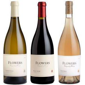 Southern Napa Fine Wine House Wine Mother's Day 'Flowers Vineyard' Wine Trio