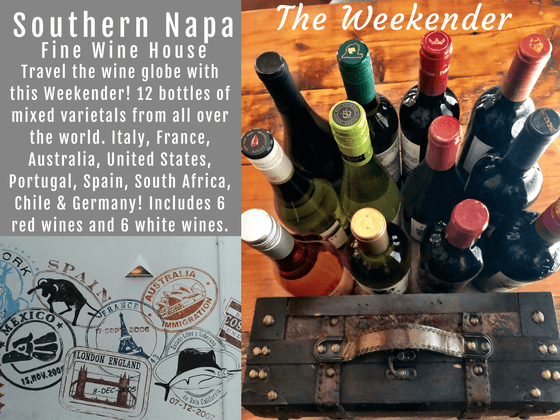 Southern Napa Fine Wine House Wine Weekender Global Wine Case