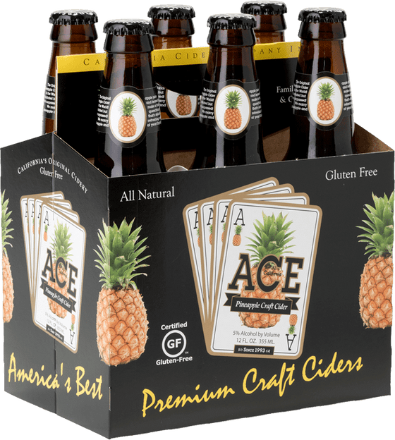 System Cider Ace Pineapple Cider 6 Pack