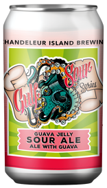 United Johnson Brothers Craft Beer Chandeleur Brewing Gulf Sour Series Guava Jelly Sour 4pk