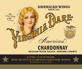 Virginia Dare Chardonnay Virginia Dare Russian River Valley Chardonnay 2014
