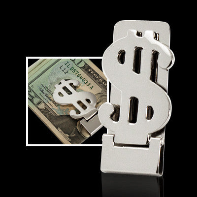 MI-7563  DOLLAR SIGN MONEYCLIP