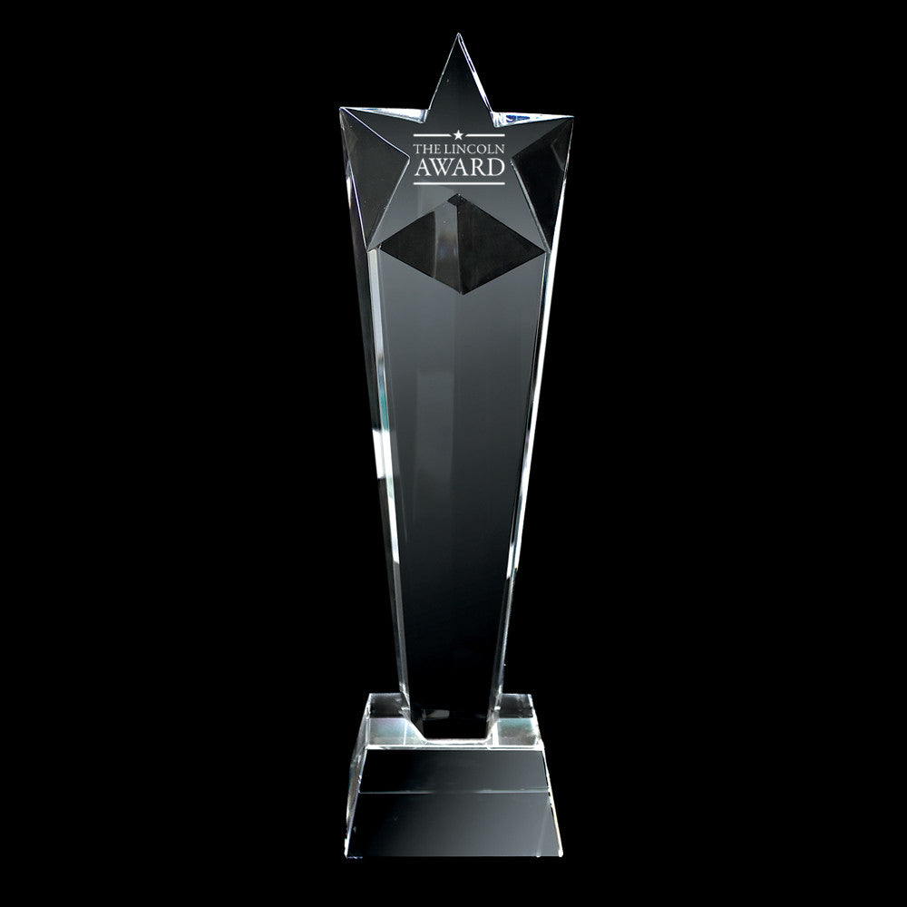 C 106 CRYSTAL TROPHY Tall Star
