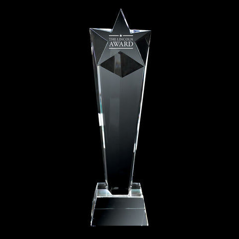 C-106  CRYSTAL TROPHY (Tall Star)